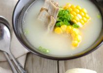 Pork Rib Soup With Corn