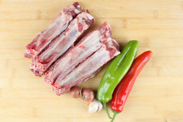 Salt and Pepper Ribs ingredients