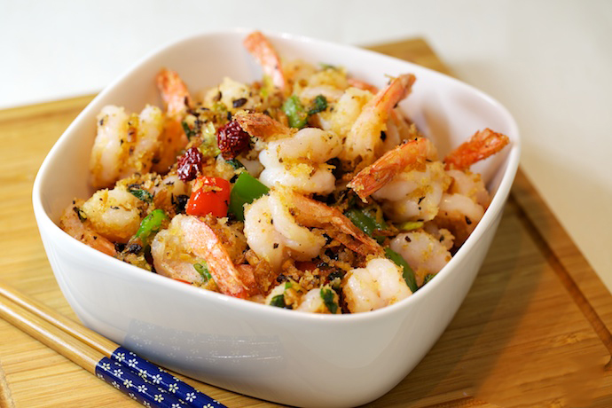 chinese shrimp stir fry