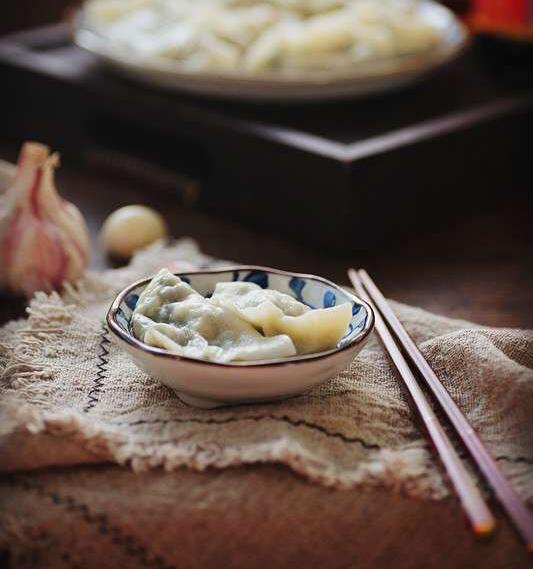 Chive Dumplings
