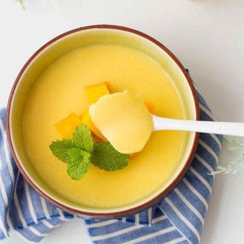 Chinese mango pudding