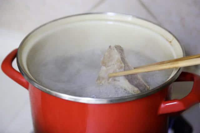 Chinese Pork Bone Soup step4