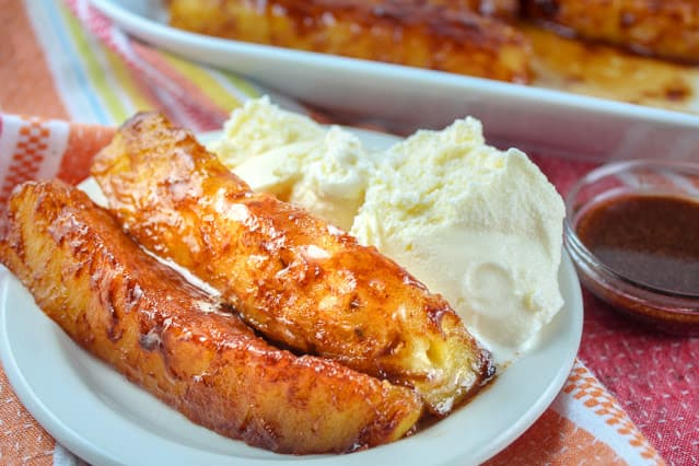 Air fryer grilled pineapples