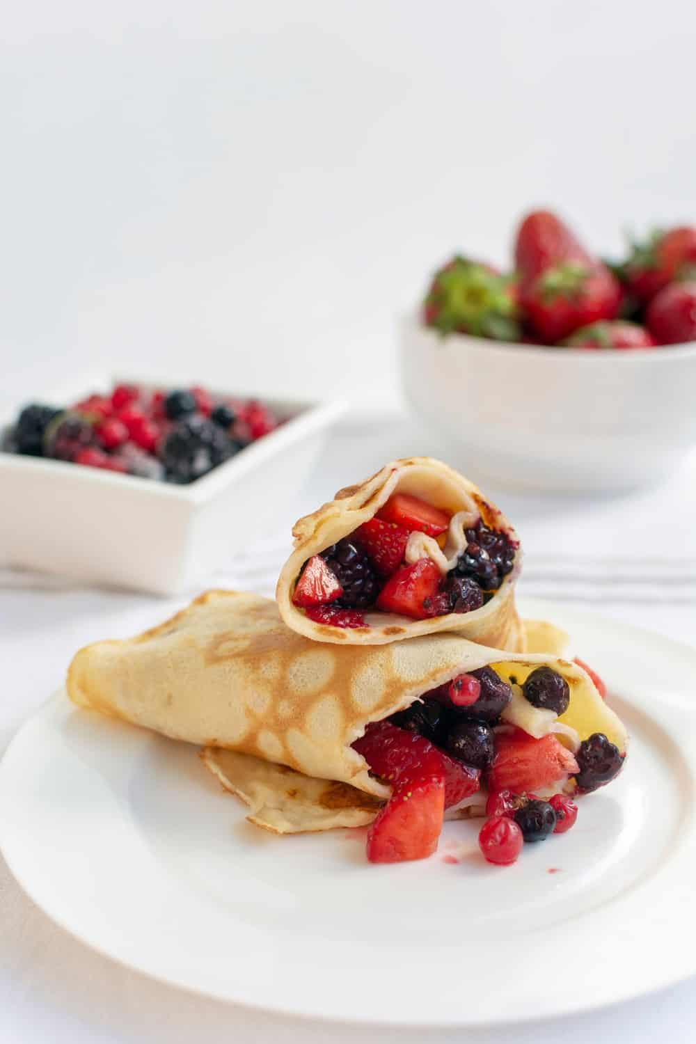 Crepe with delicious Filling
