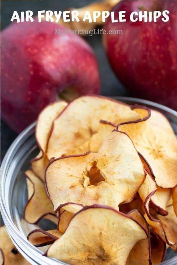 Crispy apple fries