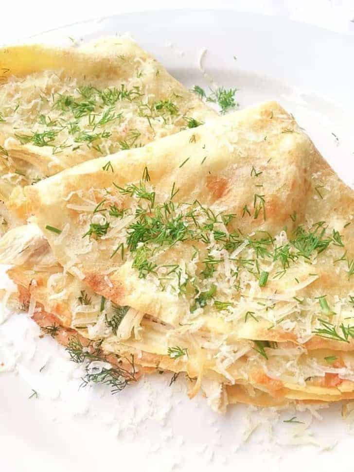 Easy recipe with chicken and cheese