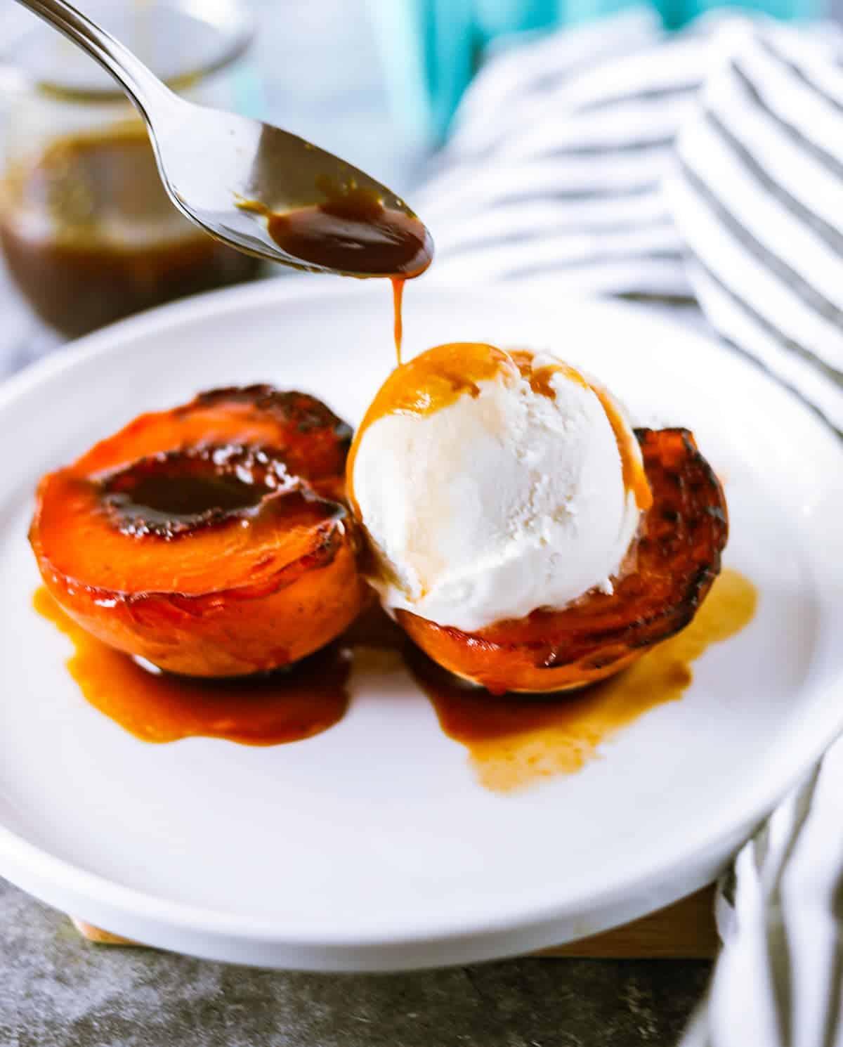 Healthy Air Fryer Peaches
