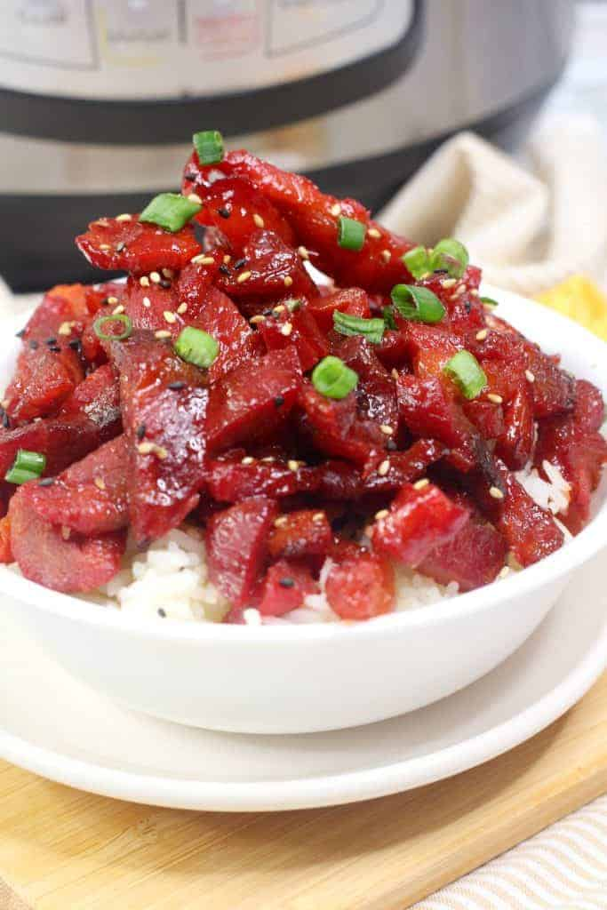 instant pot Chinese barbecue