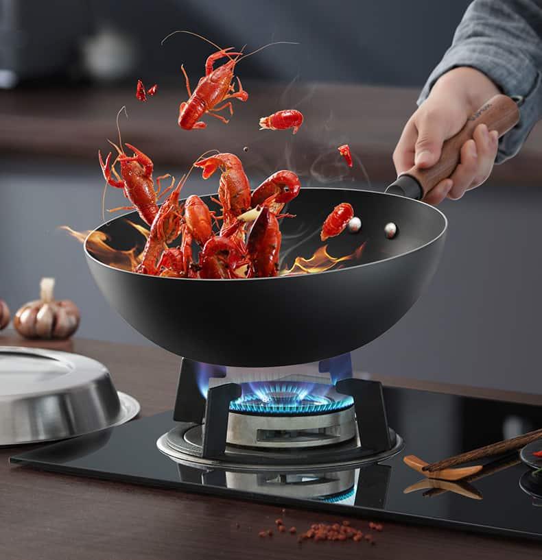 toss the wok
