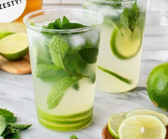 6.Lemon Mint Mojito