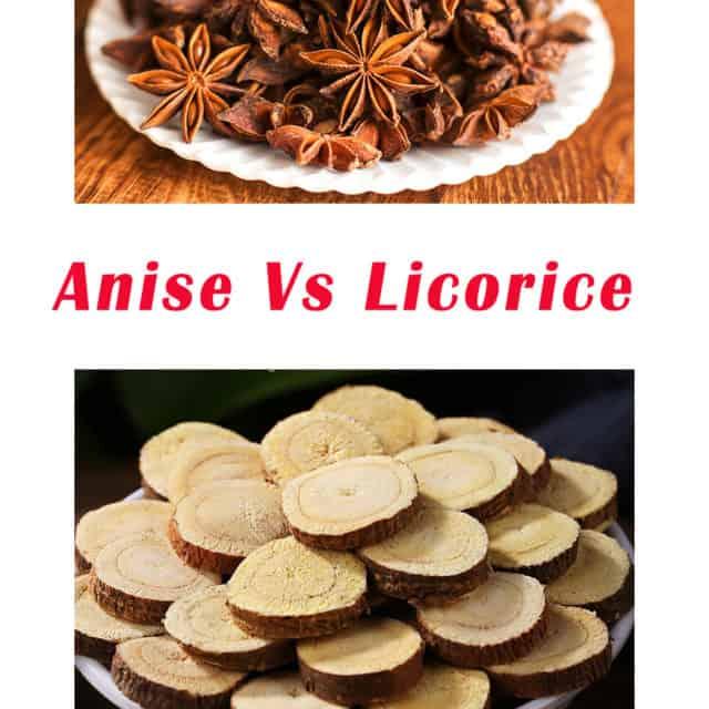 Anise Vs Licorice