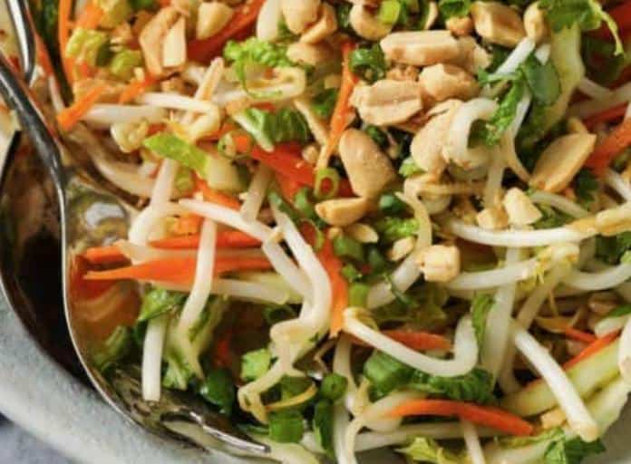 Beans Sprouts Salad