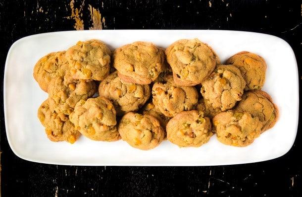 Butterscotch Rum Raisin cookies
