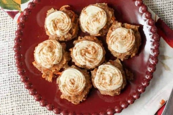 Carrot Cookie Bites