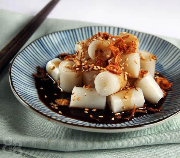 Chee Cheong Fun steamed rice rolls
