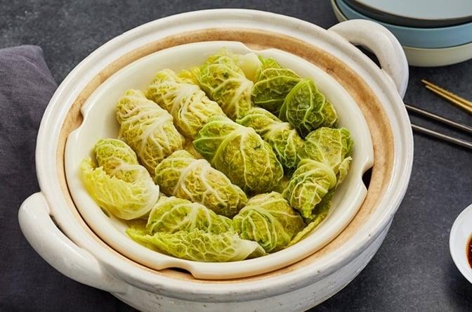 Chicken and Cabbage Dim Sum