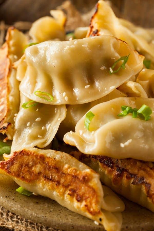 Chinse dumplings potstickers recipe