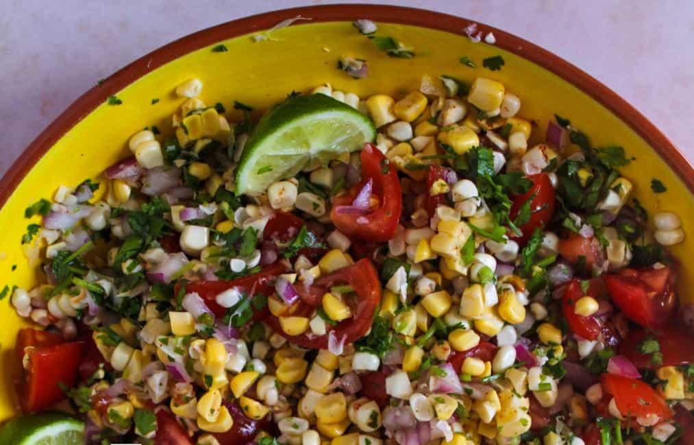 Corn Tomatoes Salad