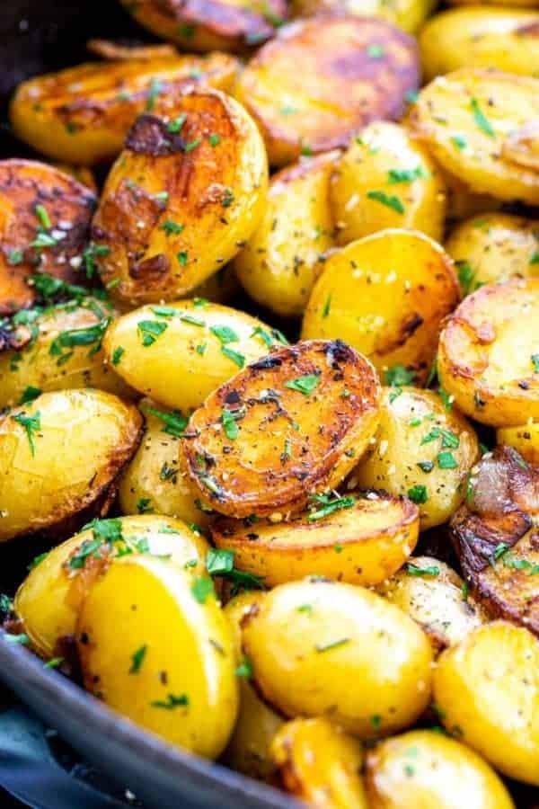 Herbed skillet potatoes