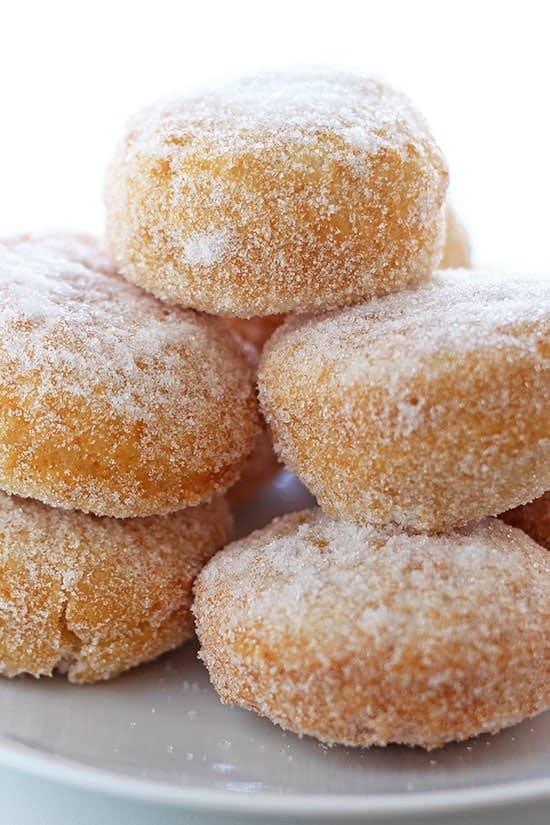 Homemade Chinese donuts