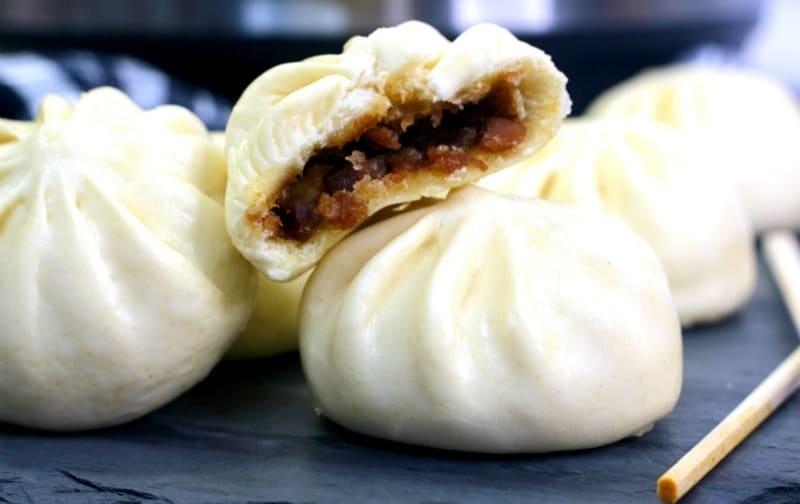 Instant pot potsticker Bao Buns Dimsum