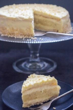 Italian Orange Diplomat Cake