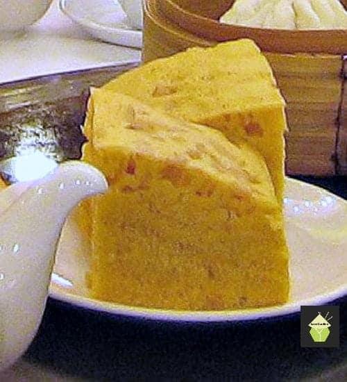Ma Lai Go Chinese steamed dim sum cake