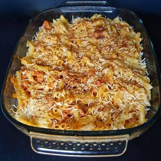 Spanish Mac and Cheese