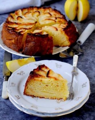 Torta della nonna ricotta and lemon tart
