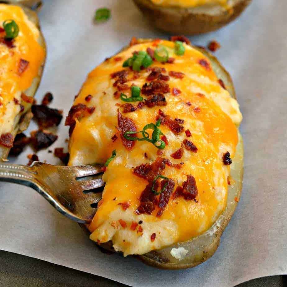 Twice baked potatoes 1