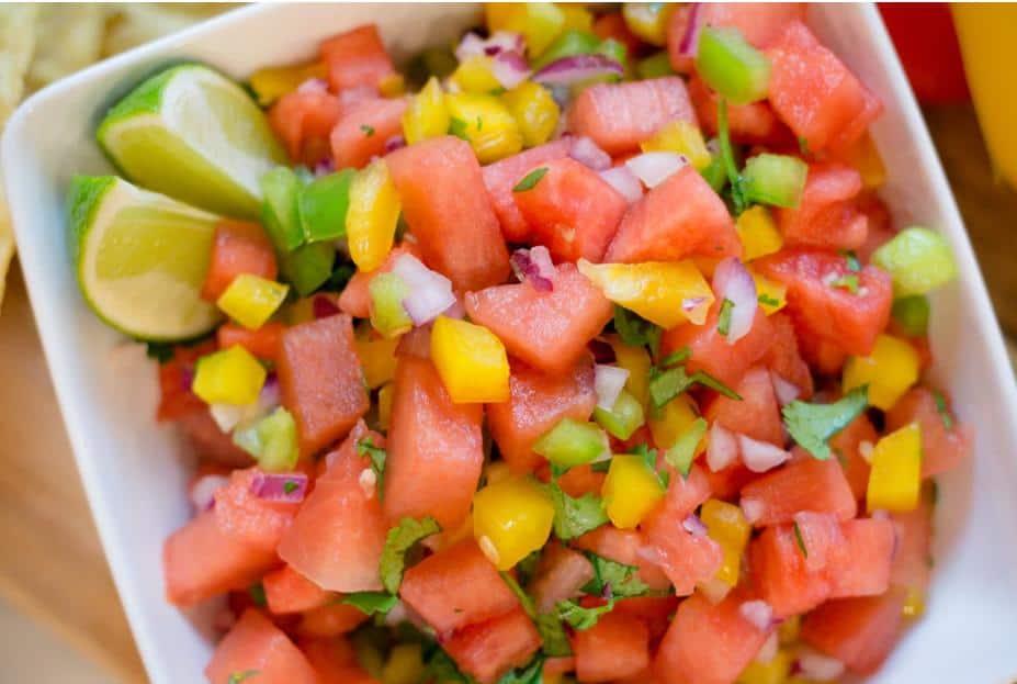 Watermelon Salsa