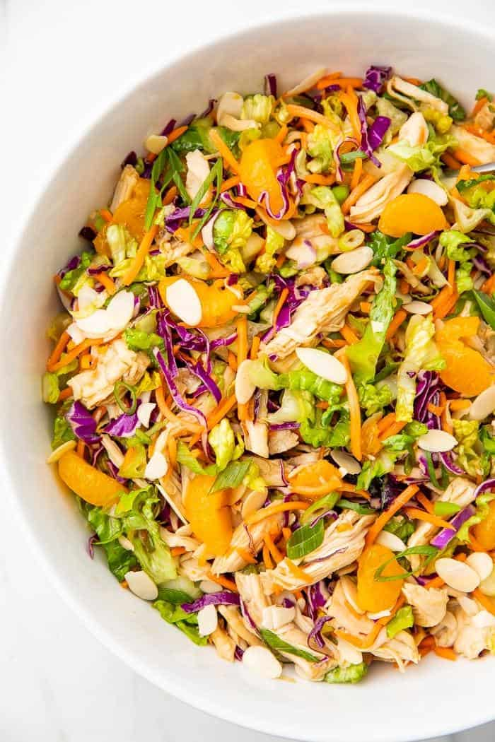 Whole 30 Chinese chicken salad