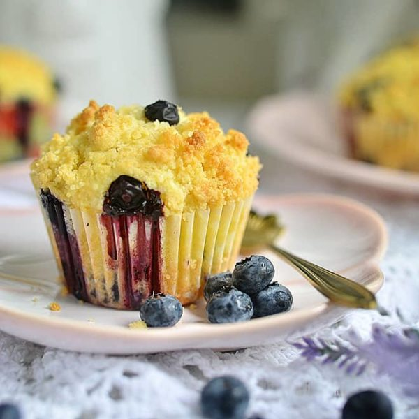 Easy Homemade Blueberry Muffin Recipe