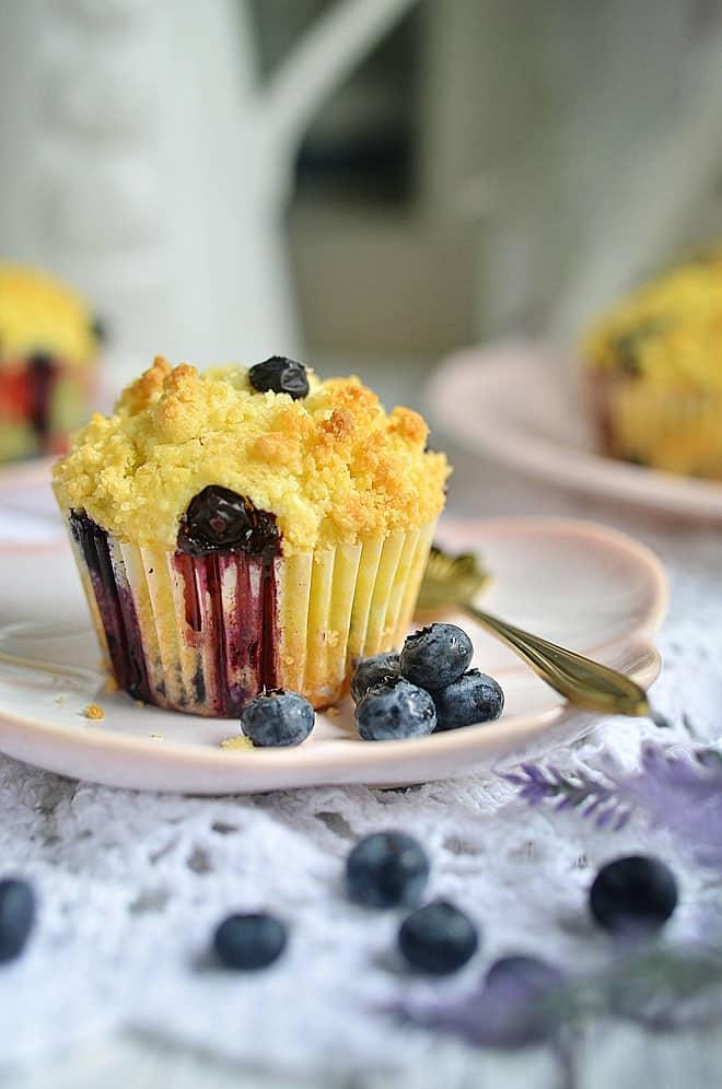blueberry muffins 4