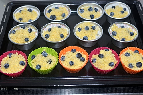 blueberry muffins step10