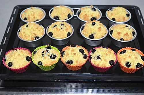 blueberry muffins step11