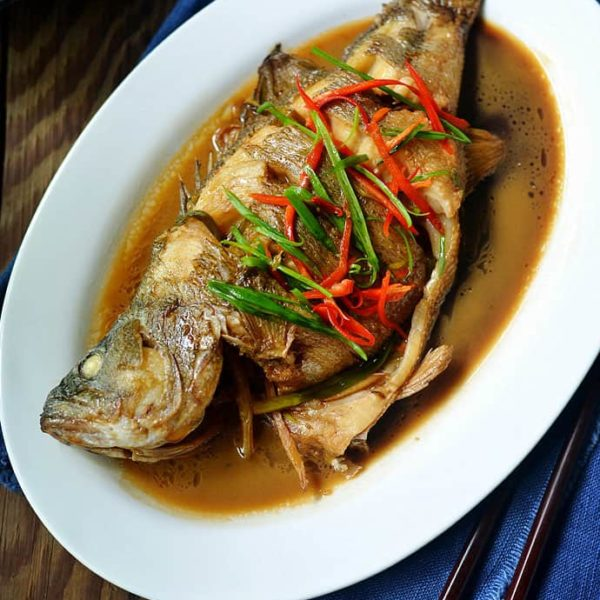 Braise Fish – Chinese Style Hong Shao Yu