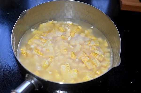 corn milk step3