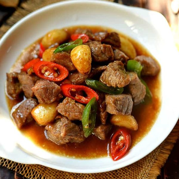 Easy Chinese Garlic Beef Stir Fry
