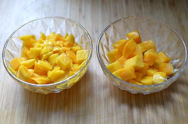 mango yogurt smoothies step3