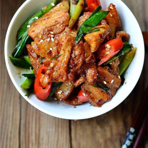 Most Delicious Pork Chili – Classic Chinese Pork Stir Fry Recipe