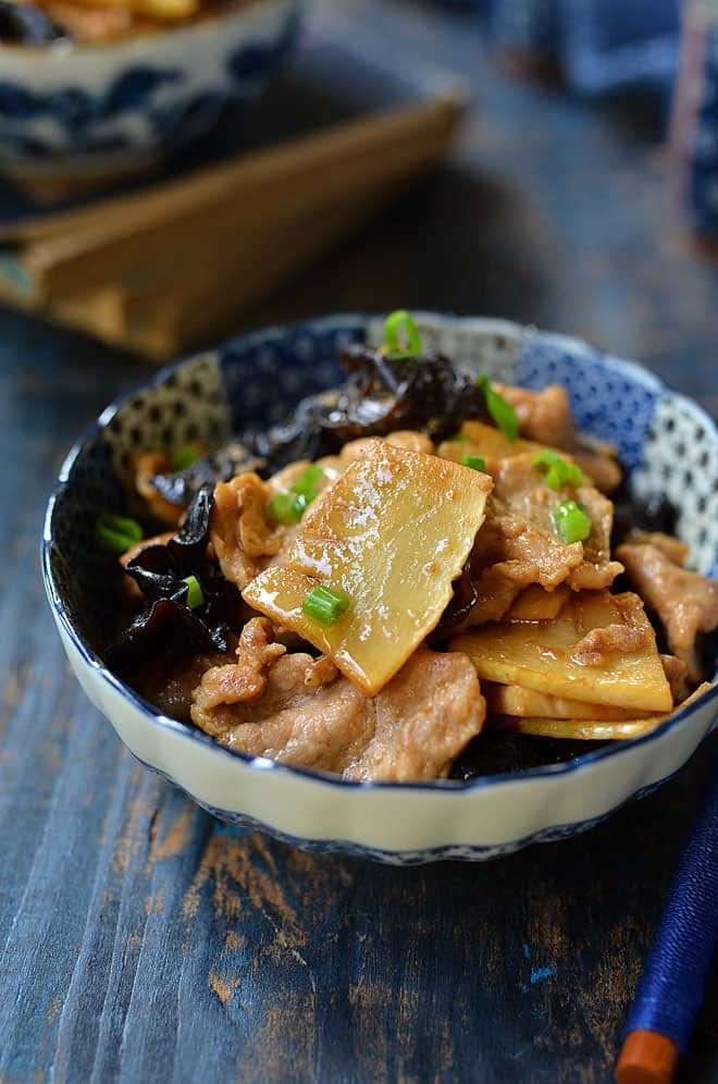 pork with bamboo shoot 1