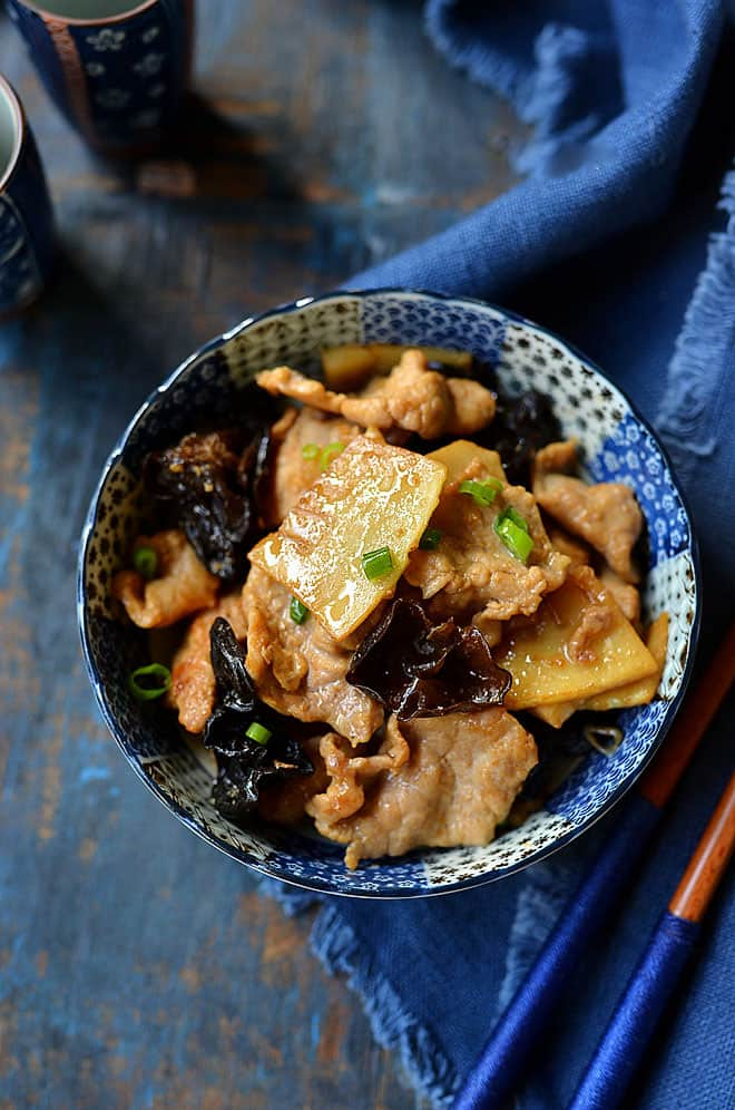 pork with bamboo shoot 2