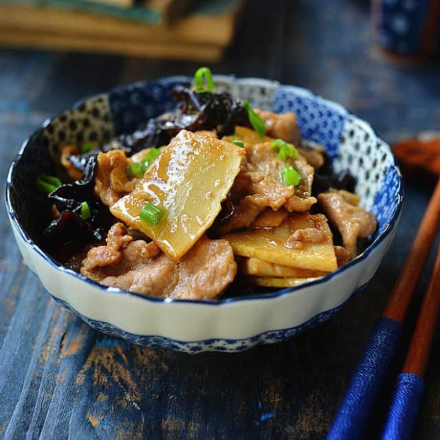 pork with bamboo shoot 3