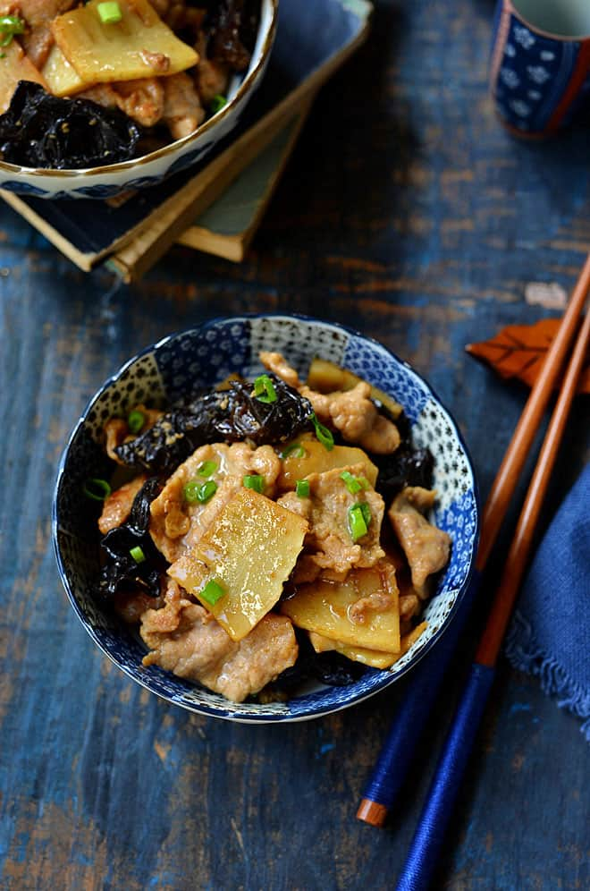 pork with bamboo shoot 5