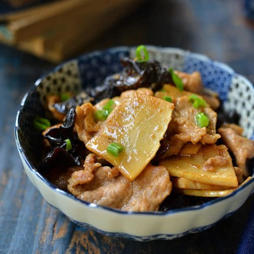 pork with bamboo shoot 6