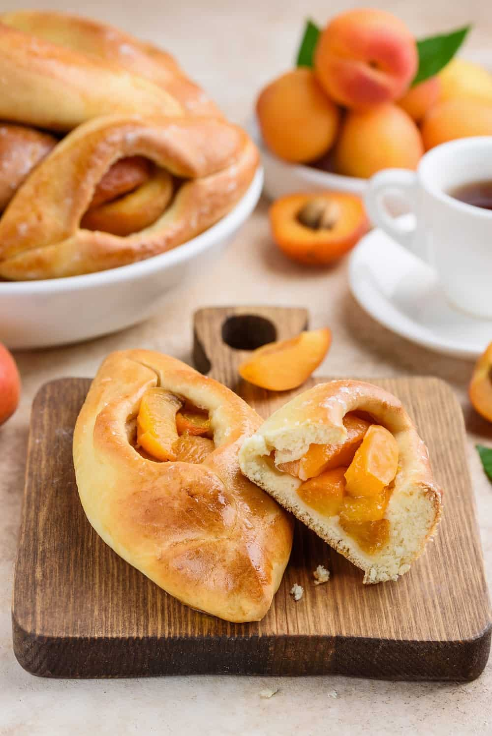 russian dessert baked puff pastry