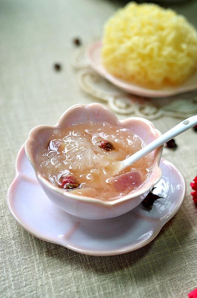 snow fungus soup 1