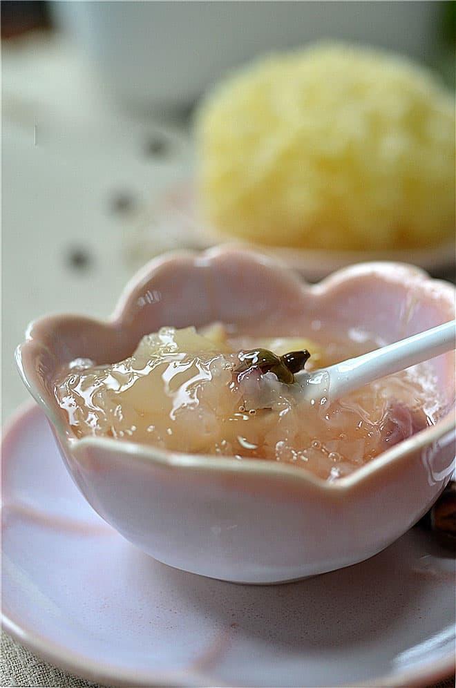 snow fungus soup 3