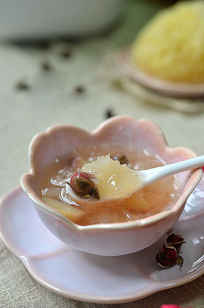 snow fungus soup 6